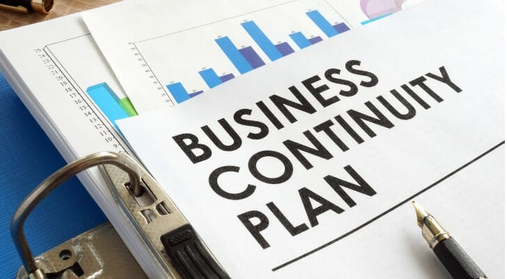 A business continuity plan
