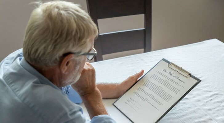 Man considers disclaiming an inheritance