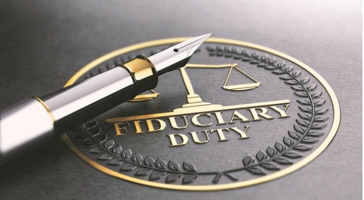"""""""FIDUCIARY DUTY"""""""