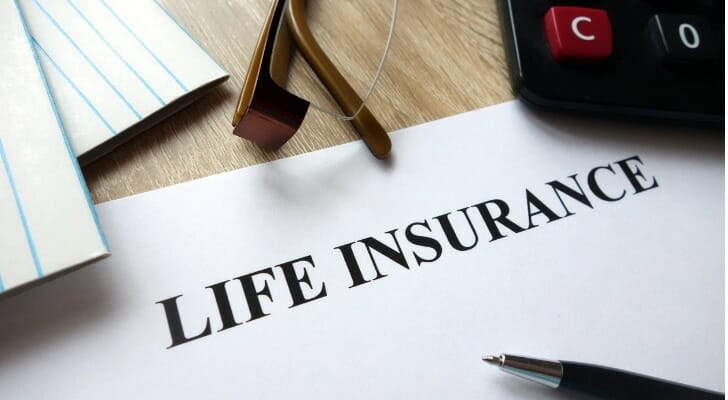 Life insurance documents
