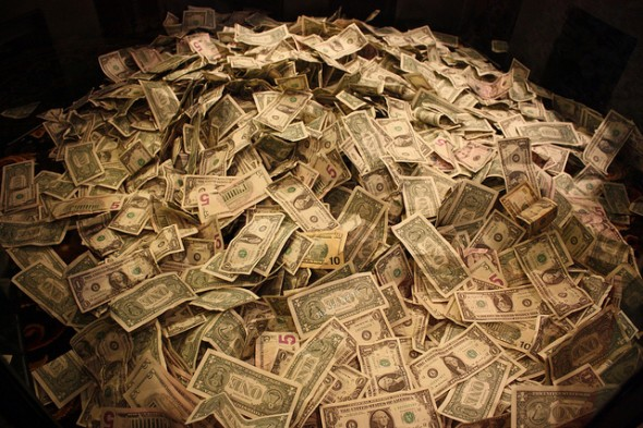 pile of money - 5 Tips for Handling a Financial Windfall