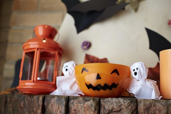 Halloween Decorations for Small Space Living