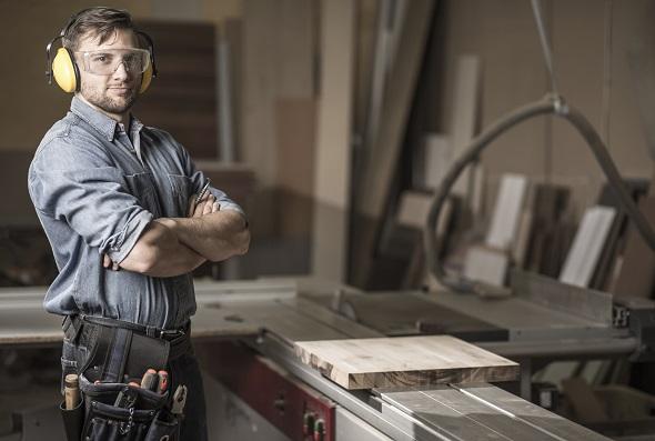 The Top Ten Best Self-Employed Jobs: Carpenter