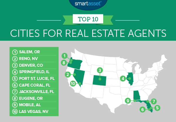 The Best Cities for Real Estate Agents - 2016 Edition