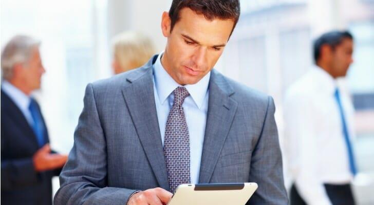 Lender checking loan document
