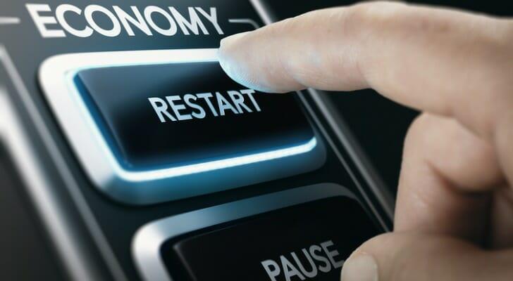 Economy restart button