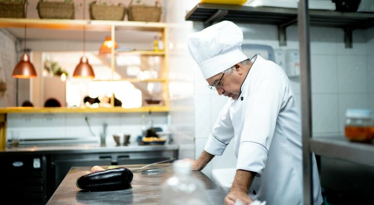 Chef worries about the recession