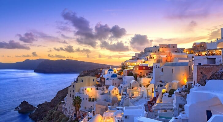 retire in greece