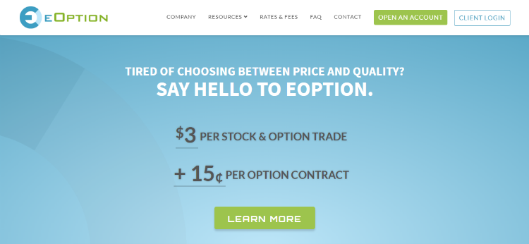 eOption Brokerage Review