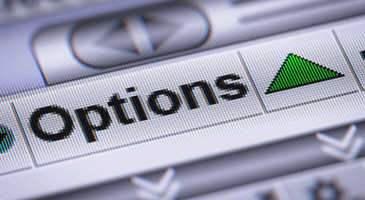 """Options"" tab on a computer"