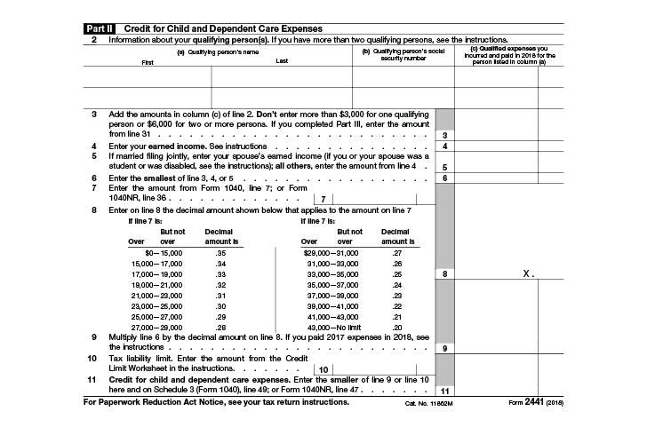 Form 2441