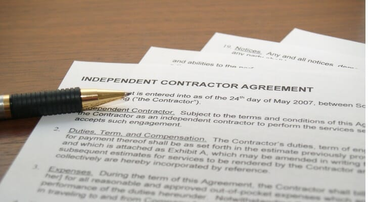 Here's a guide to an independent contractor's taxes.