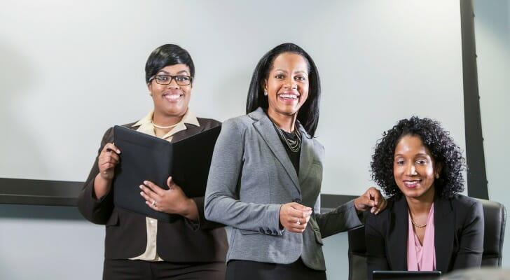 Minority businesswomen