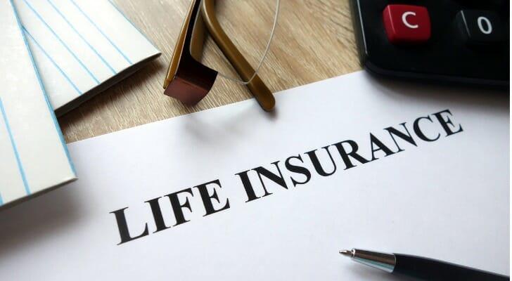 Life insurance documents