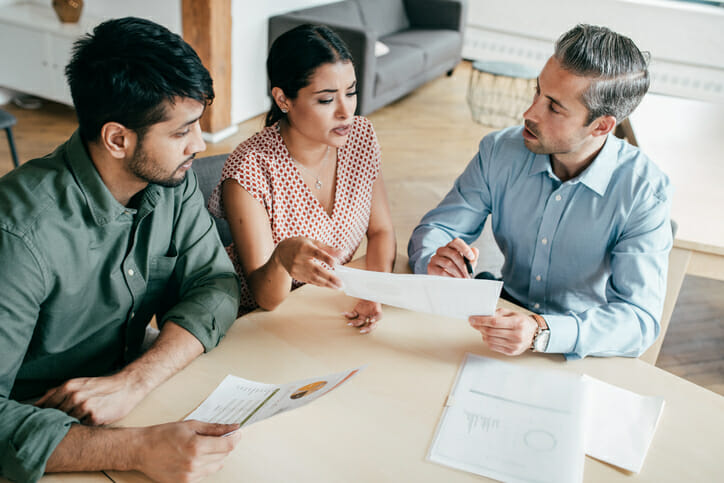 Work with a financial advisor to invest your tax refund