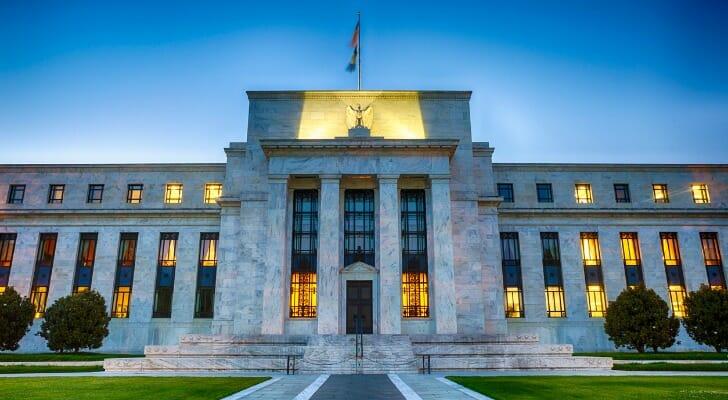 Fed building in Washington, D.C.