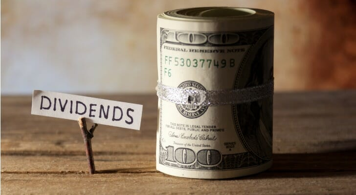 Dividends and a roll of bills