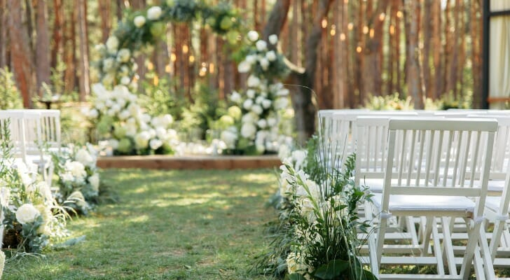 SmartAsset analyzed data on cost and wedding service providers to find the best cities for an affordable wedding.