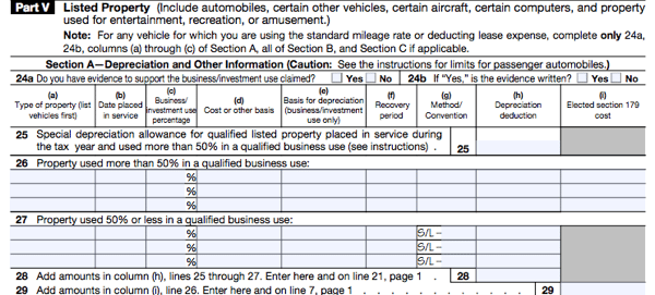All About IRS Form 4562