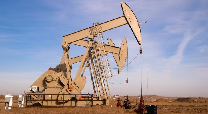 Pump jacks extracting oil from North Dakota