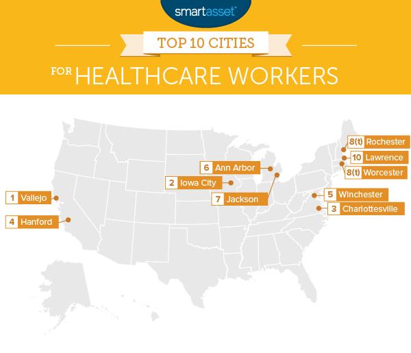 The Top Ten Cities for Healthcare Workers