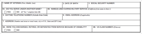All About VA Form 26-1880