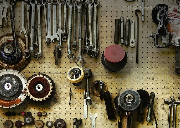 Tools on display - Things You're Better Off Buying Secondhand
