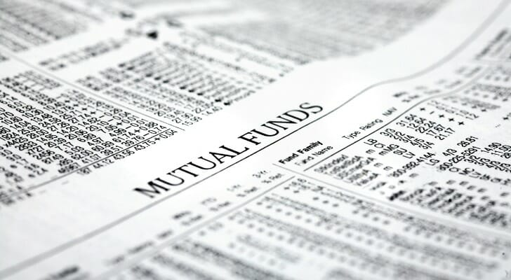 Newspaper listing of mutual funds