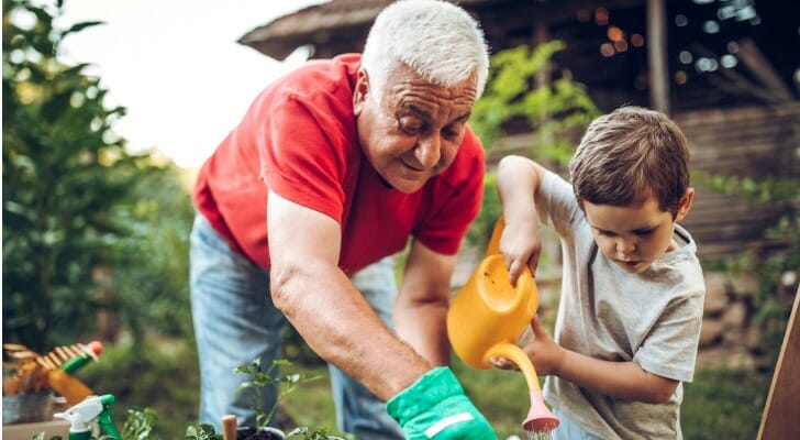 Stay busy with family to help with retirement depression.