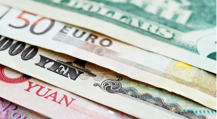 Currencies are also Forex investment tools.