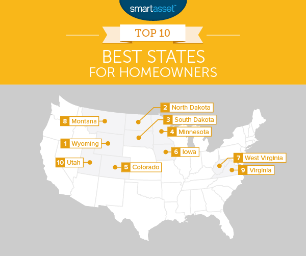 The Top 10 Best States for Homeowners