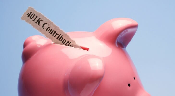 how does 401k work: an account is a piggy bank for retirement