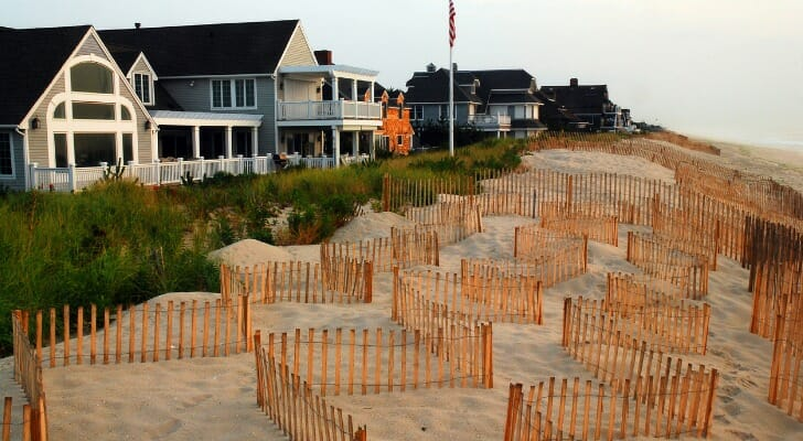 Beautiful homes on the Jersey shore