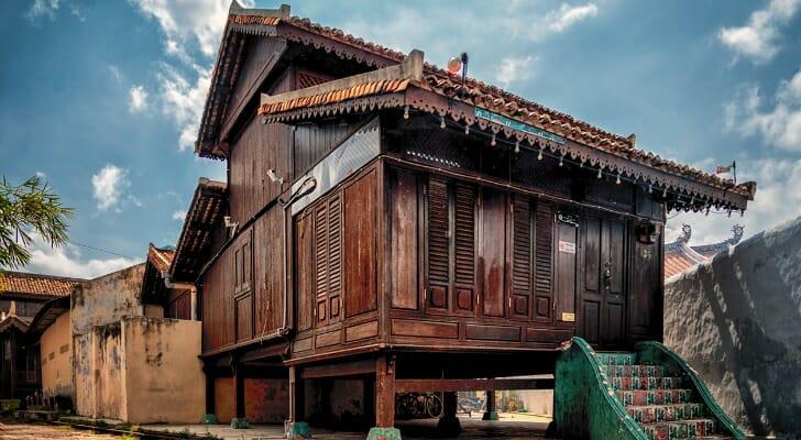 House in Malacca, Malaysia