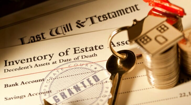 Probate of will documents