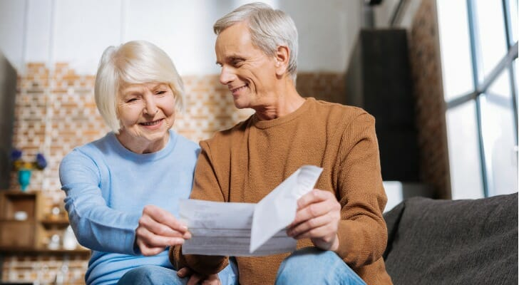 Couple reviews their Social Security benefits