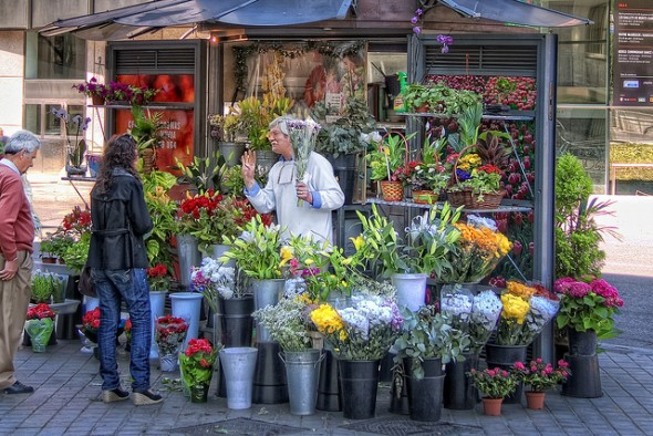 The Economics of Flowers