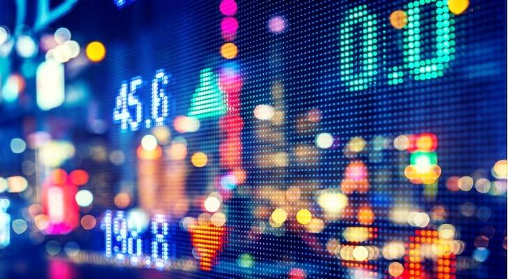 Stock price screen