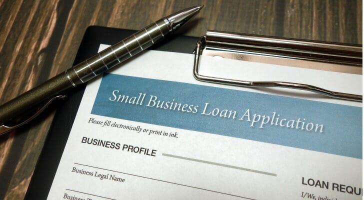 Short-term business loan application