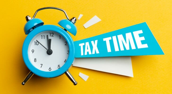 Tax Time graphic