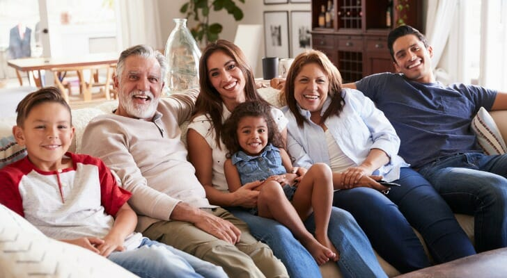 multigenerational household more common