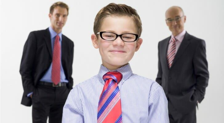 A minor principal of a fiduciary deposit account
