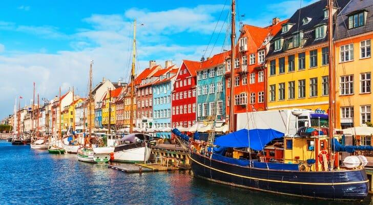 Fishing boats in Copenhagen