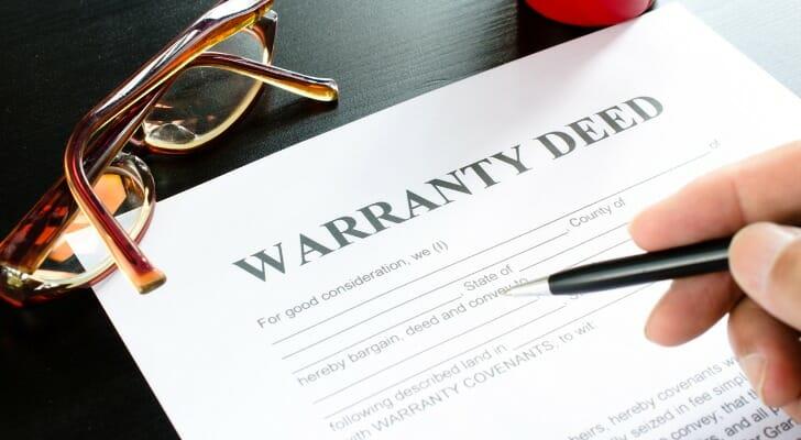 A warranty deed