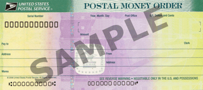 postal money order filled out wrong