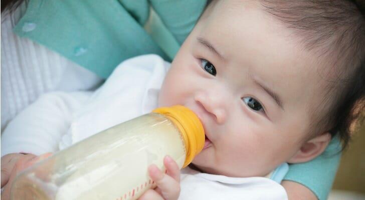 baby formula cost