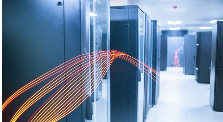 Huge computers hold EDGAR data