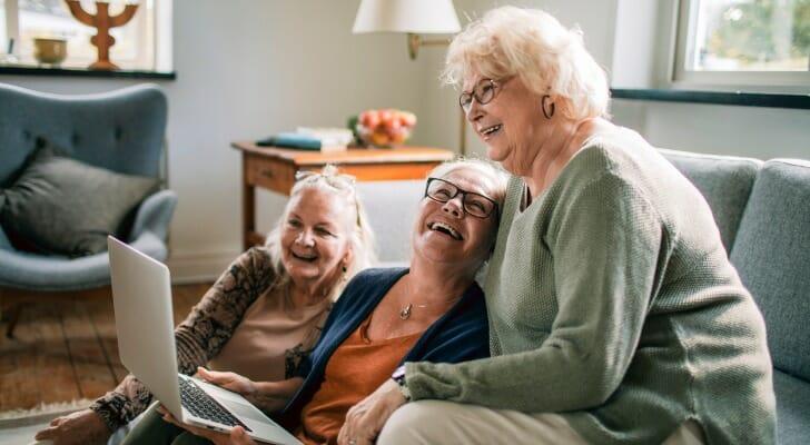 Three retired widows