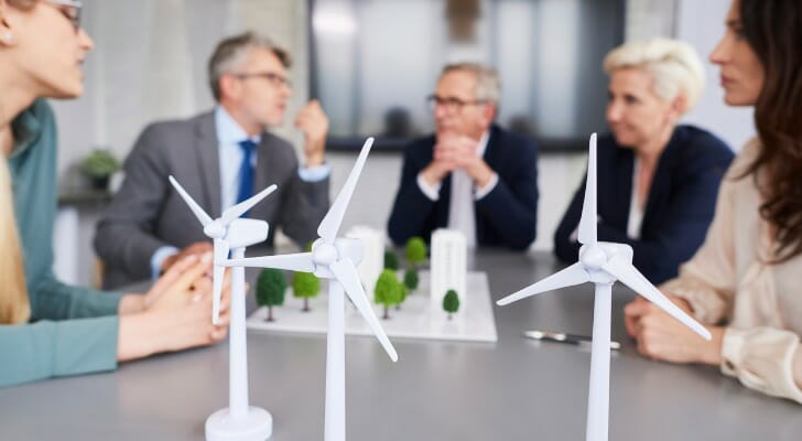 Corporate officers discuss their environmental commitments