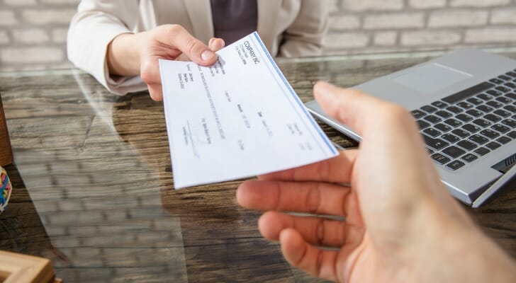 can you cash a check at any bank?